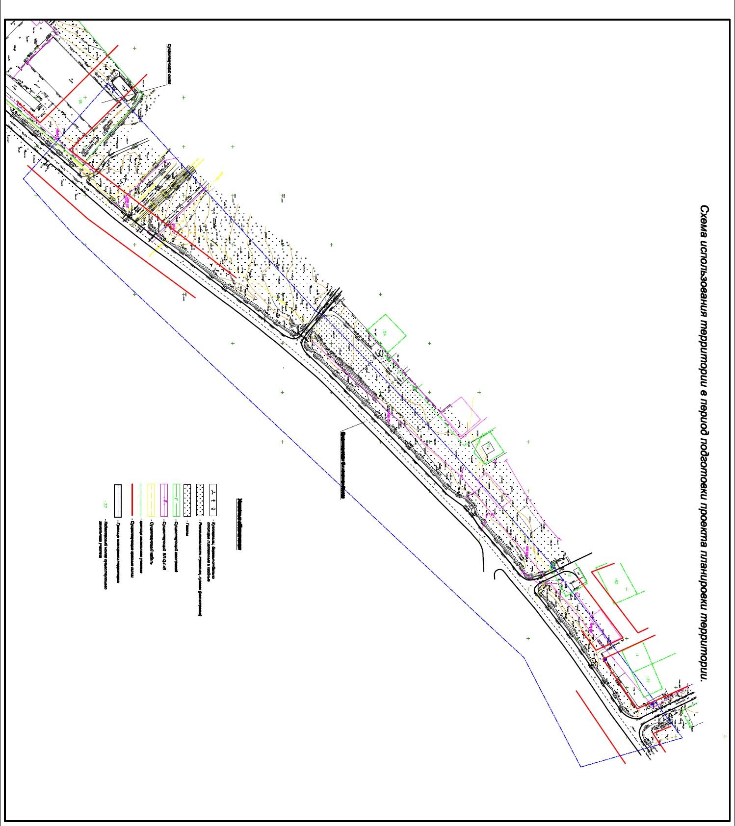 строительство линейного объекта