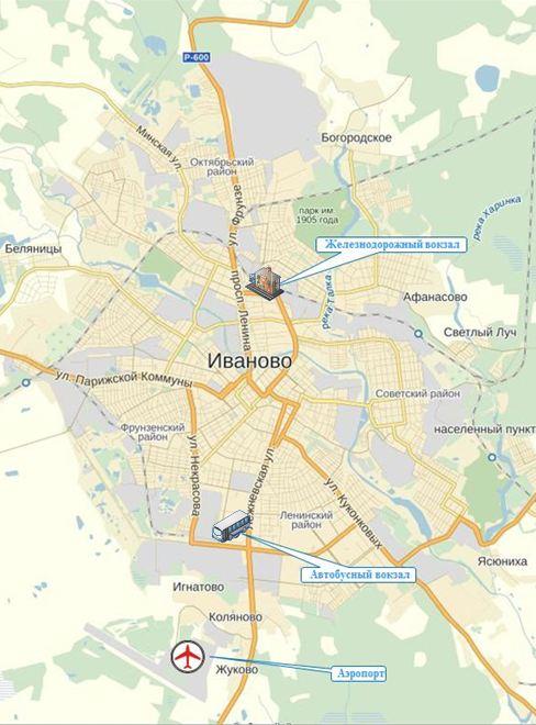 Город Иваново-Вознесенск был
